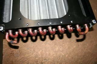 Giant Copper Pipe Aluminum Fin Water Cooling Radiator
