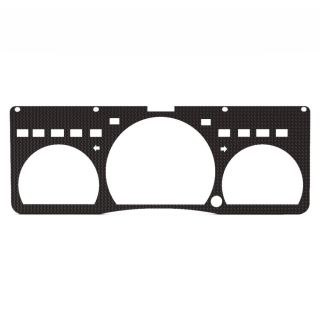 Ford Crown Victoria 95 00 Carbon Fiber Custom Speedometer Dash Gauge Bezel Trim