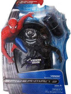 Spider Man 3 Symbiote Mutation Figure Venom