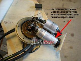 New Intank EFI Fuel Pump Replacement BMW R1200C 1997 2004