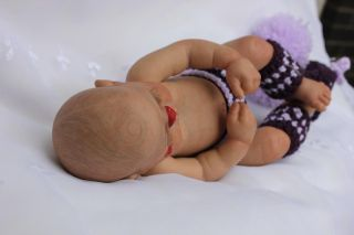 Babymine Nursery Letha Mellman Reborn Preemie Baby Clown Girl RuBert Full Body