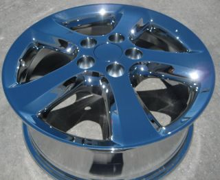"Exchange Your Stock 4 New 17"" Factory Toyota Solara Chrome Wheels Rims"