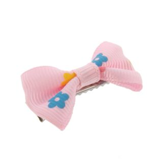 Girls Baby Toddler Kids Hair Bow Bowknot Flower Grosgrain Ribbon Alligator Clip