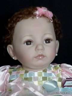 New in Box Ashton Drake Baby Ella Doll by Dianna Effner 19""