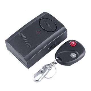 Wireless Remote Control Vibration Security Alarm for Window Door Car Motor Bike