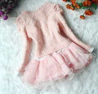 2013 Junoesque Baby Girls 2pc Cardigan Skirt Princess Tutu Dress Kids Sets Suits