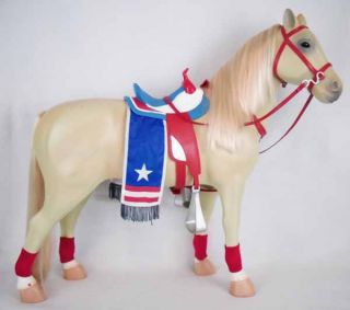 RARE Battat Our Generation Dolls Americana Horse Clothes American Girl Size