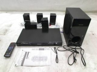 Panasonic SC XH170 Energy Star 5 1 Channel 1000 Watt DVD Home Theater System
