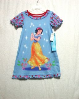 Disney Snow White Nightgown Girls Red Blue Free SHIP U Choose