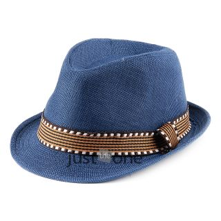 New Chic Fashion Cute Cool Toddlers Kids Girls Boys Children Cap Canvas Jazz Hat