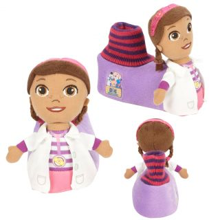 Disney Doc McStuffins Plush Head Socktop Slippers Toddler Large 9 10