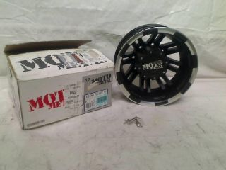 Moto Metal MO963 17x6 Black Wheel Rim 8x210
