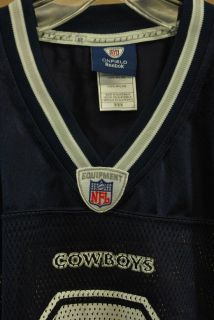 Reebok Jersey Dallas Cowboys NFL Jersey Navy Gray White Romo 9 7009A 203 9