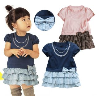 CLEARANCE Sale Baby Kid Boy Girl Cute Casual Onepiece Romper Tee Tutu Dress