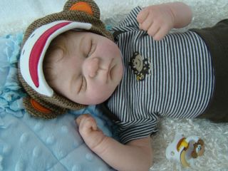 Heirloom Baby Nursery Reborn Baby Boy Julien by Elisa Marx Full Torso OOAK