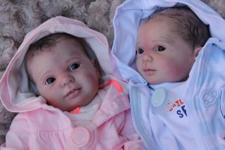 Beautiful Reborn Baby Boy Doll Twin 1 Blaze Sam's Reborn Nursery