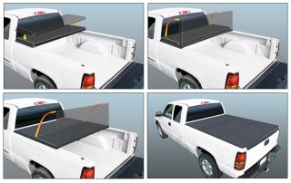 F 250 Rugged Liner Hard Fold Tonneau Cover HC F6599