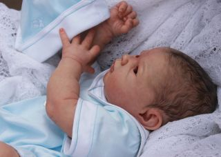 Beautiful Reborn Baby Boy Doll Judith Sam's Reborn Nursery Limited Edition