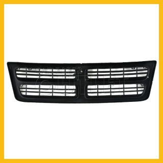 98 03 Dodge RAM Van Front Grille 1500 2500 Grill Assembly Argent Black New