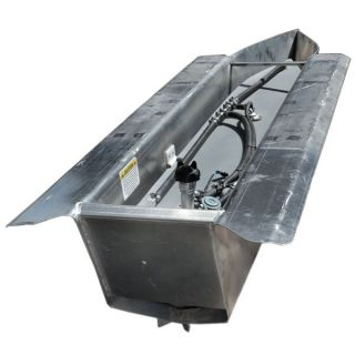 Custom 18ftx24in Pontoon Boat Float Log Tubes w Deck Engine Pod Gas Tank