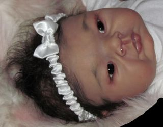 Reborn Baby Girl Suri Breedveld Asian Oriental Korean Ethnic Newborn Doll Art