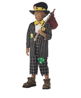 Child Costume Circus Clown Toddler Kids Boys Lil Hobo 3T 4T