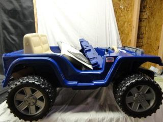 Fisher Price Power Wheels Jeep Wrangler Rubicon