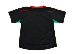 Adidas Football Soccer Mexico Team Black Red Green Jersey Toddler Size S4PDB MX