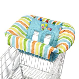 Taggies Cozy Deluxe Catterpillar Neutral Shopping Cart High Chair Cover New