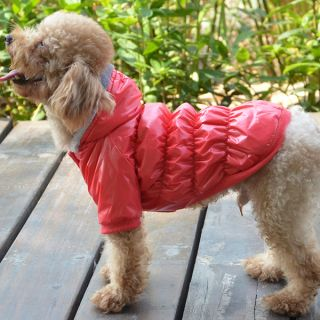 Soild Color Down Coat Winter Outwear Pet Apparel Clothes Cat Dogs Puppy Jackets