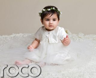 Baby Girls Ivory Dress Girls Christening Dress Girls Christening Gown