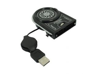 Mini USB Strong Cool Air Cooler Idea Cooling Fan for Laptop Notebook
