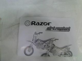 Razor MX350 Dirt Rocket Electric Motocross Bike $289 99