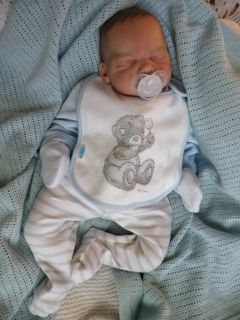 Precious BM Originals Reborn Fake Baby Boy Doll Nico Legler