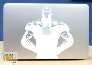 Iron Man Vinyl MacBook Laptop Decal Sticker