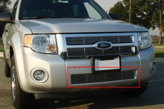 T Rex 08 12 Ford Escape Bumper Billet Grille Custom Aluminum Polished Grill
