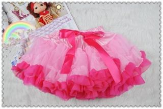 Baby Girl Pink Princess Dress Vest Romper Ruffle Set Tutu Skirt Photo Prop 6 24M