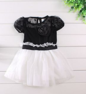 1pc Girls Kids Baby Party Pageant Tutu Top Dresses Princess Outfit Clothes 1 2Y