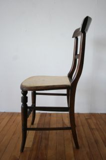 Antique Victorian Chair Rosewood Dining Bedroom Occasional