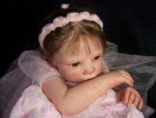 Reborn Baby Girl Doll Amazing Really Lifelike So Cute Little Baby Girl