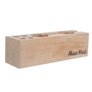 Wood Beech Desktop Organizer Storage Holder Fr iPhone Pen Stationery Office Home
