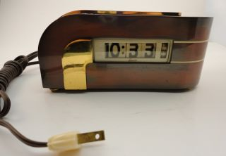 Art Deco Lawson Electric Clock Model 304 Model P 40