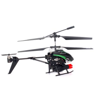 WLtoys V398 Cool Missile Launching 3 5CH RC Remote Control Gyro LED Helicopter