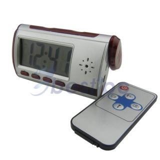 Spy Electronic Digital Alarm Clock Camera Video DVR Recorder Motion Detection US