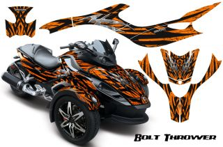 Can Am BRP Spyder RS Graphics Kit Creatorx Decals BTO