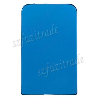 New Blue USB 2 0 2 5 inch SATA HD HDD Hard Drive Disk Case Cover Caddy Enclosure