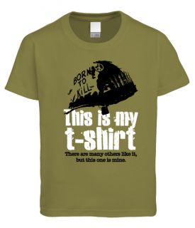 This Is My T Shirt Funny Fulll Metal Jacket Military Vietnam Dad Fathers Day