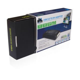 USB 2 0 3 0 to HDMI DVI VGA Video Converter Adapter for Windows Mac 10 8 1080p