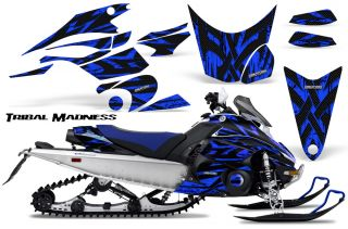 Yamaha FX Nytro 08 12 Snowmobile Sled Graphics Kit Creatorx TMBL