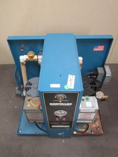 DentalEZ Dual Custom Dental Suction Vacuum Pump System Model MC 201